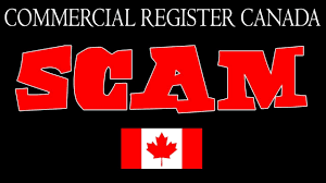 commercial register canada scam letter youtube