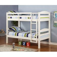 Twin Solid Wood Bunk Bed White Walmart Canada - Solid wood bunk beds