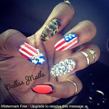 twist of 4th of july nail art by dallas nailpolis museum of