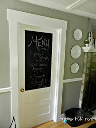Chalkboard Home Decor by Fantastic Kitchen Door Ideas In Home Decor Ideas With Kitchen Door