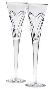 waterford wishes and flutes set of 2