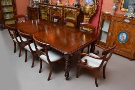 Mahogany Dining Room Table And  Chairs - Mahogany kitchen table