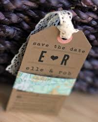 luggage tag save the date 25 diy save the dates to start the festivities