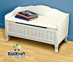 Kids Bench With Storage White Toy Box Bench U2013 Amarillobrewing Co
