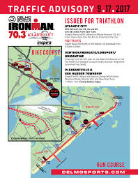 Atlantic City Map Atlantic City Ironman Triathlon Set For Sunday Check For Detours