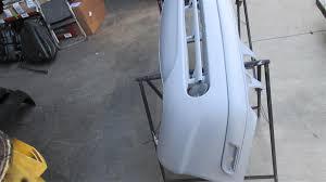 2000 mercedes benz clk430 front bumper primer gray w washer mbi