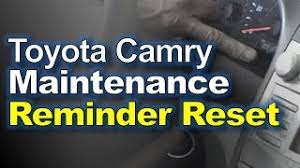 how to turn maintenance light on toyota camry 2009 hmongbuy turn and reset maintenance light on toyota