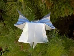 christmas crafts angel origami tutorial guia para hacer un