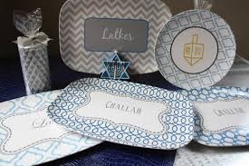 hanukkah tableware hanukkah plate set and platter sparklemonkey