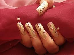 beautiful nail art for girls 01 stylecry bridal dresses women