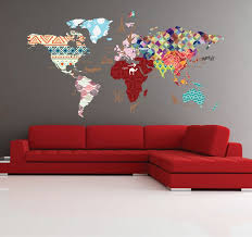 world map with country names contemporary wall decal sticker the 25 best world map decal ideas on wall stickers
