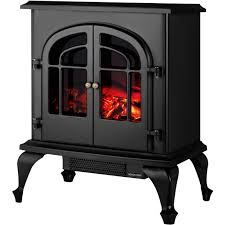 stoven black electric log effect stove select fireplaces