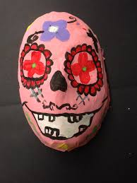 Day Of The Dead Mask The Smartteacher Resource 3d Paper Mache Day Of The Dead Masks
