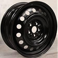 toyota corolla wheel amazon com 15 toyota corolla 5 lug steel wheel automotive