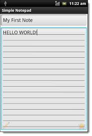 android notepad secure really simple note taking with simple notepad android 2 2