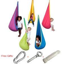 baby hammock swing chair indoor outdoor portable hanging pod swing