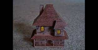 monster house com paper model of the house from the movie monster house youtube