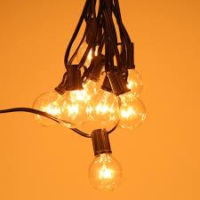 incandescent strip light bulbs tomshine vde listed ac220v 175w 25ft e12 base g40 pack of 25 globe