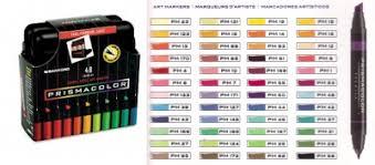prismacolor marker set penwa