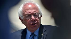 secret service rushes stage to protect bernie sanders for second