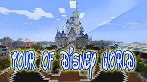 Disney World Maps Minecraft Xbox Tour Of Disney World Ep 1 Mickey Mouse Impression