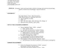 Sample Resume For Working Students With No Work Experience by Sample Resume College Student No Experience Free Resumes Tips