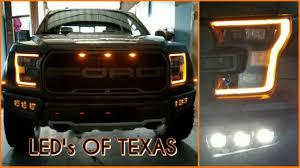 Ford Raptor Headlights - 2017 f 150 raptor lighting youtube