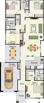 Wide Lot House Plans Australia Escortsea - Narrow block home designs