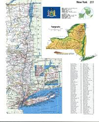 Map Of New York State by Topographic Map New Yorkfree Maps Of North America