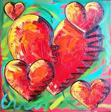heart painting stock photos images pictures shutterstock frame