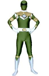 power rangers morph suit zentai zentai