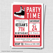 stag do invite hockey party invitations cloveranddot com