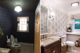 Powder Room Makeovers Photos - progress lighting a powder room makeover u2013 see the dazzling