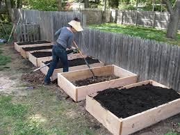 Building A Raised Vegetable Garden by Tagan U0027s Kitchen Building Raised Garden Beds