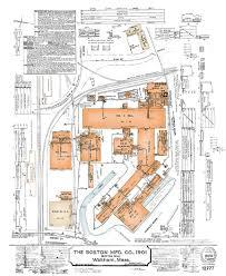 1922 boston manufacturing company insurance map u2014 charles river museum