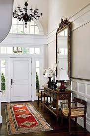 Home Foyer Decorating Ideas Nice Wainscoting And Seating Area In This Entryway Entryways