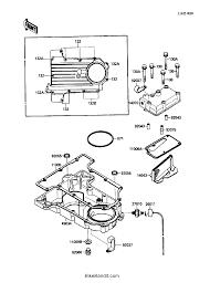 1987 kawasaki ninja 750r zx750f breather cover oil pan parts