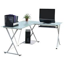techni mobili black glass corner desk l shaped glass corner computer desk techni mobili with chrome frame