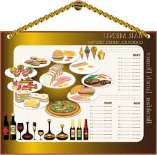 best hd free vector restaurant menu design cdr