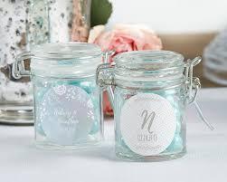 favor jars personalized glass favor jars ethereal set of 12 it s a favor