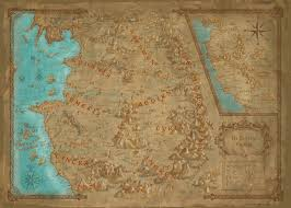 World Map Game World Map Witcher Wiki Fandom Powered By Wikia