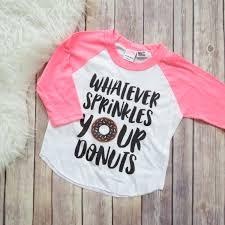 donut shirt girls pink raglan donut shirt girls clothing