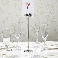 wedding table number holders wedding table number holders confetti co uk