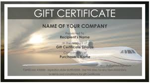travel gift certificates 7 free sle travel gift certificate templates printable sles