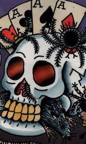 ed hardy skull large phone wallpaper by dejasoul