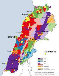 Beirut On Map Irreligion In Lebanon Wikipedia