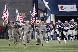 Military Flag Order The Price Of Supporting The Troops Is Paid To The Nfl Sbnation Com