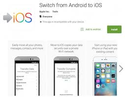 switching from android to iphone apple releases new switch to ios from android app on the