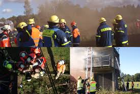 Plz Bad Oldesloe Thw Lv Hhmvsh Gemeinsam Besser U2013 übung Von Thw Feuerwehr Und