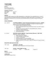 fashion retail cover letter fashion industry cover letters
